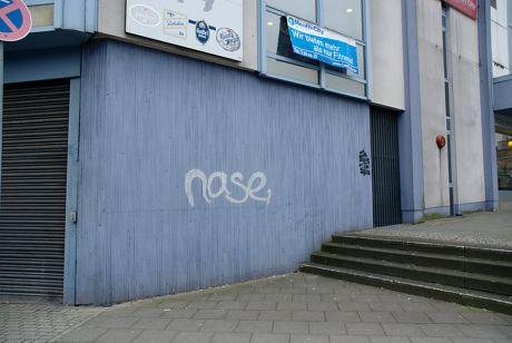 """Nase"": Mühlenplatz/Ecke Goerdelerstraße"