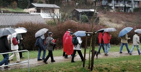 Teilnehmer: der letztjährigen Wanderung