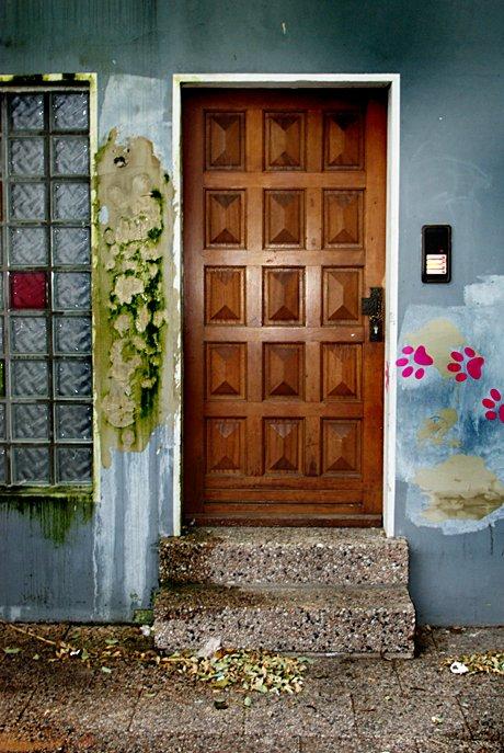 Hinterhauseingang: Kunst natur pur