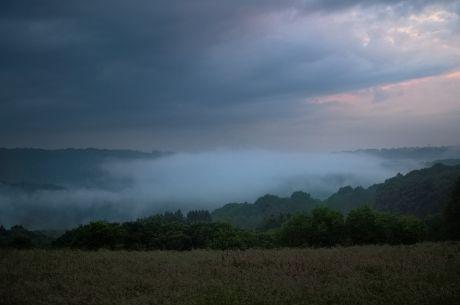 Hohenscheid, verschluckt vom Nebel