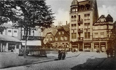 Solingen - Neumarkt, um 1926: Kunstverlag Max Biegel, Elberfeld