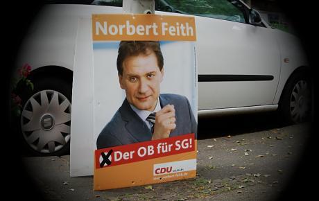 Der OB für SG!: Norbert Feith, CDU