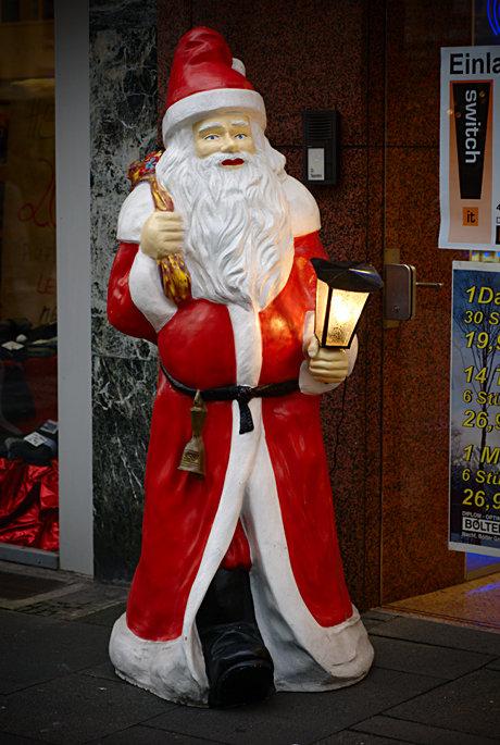 Nikolaus, oder ist es der Weihnachtsmann?