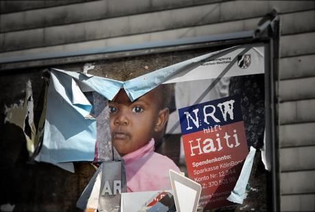 NRW hilft Haiti: (Foto: 18. März 2010)