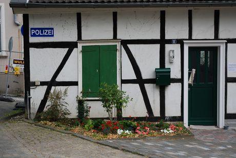 Polizei Wald