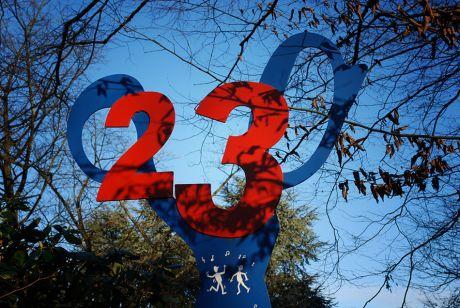 Schere Nummer 23
