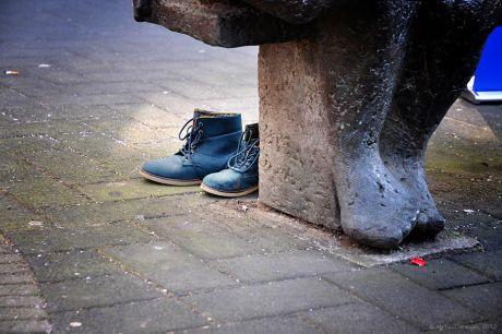 Schuhe aus
