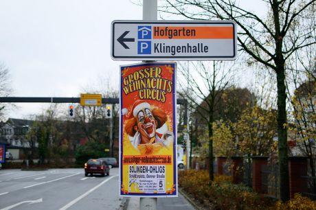 Großer Weihnachts-Zirkus