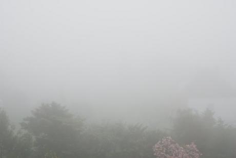 Über den Wolken: eher in den Wolken
