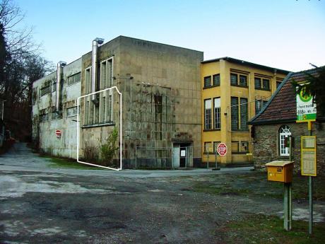 Solinger Papiermühle: im Februar 2002