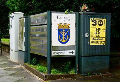 Parkplatz Solingen