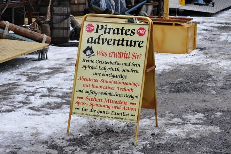 Pirates Adventure: Abenteuer-Simulationsanlage mit innovativer Technik