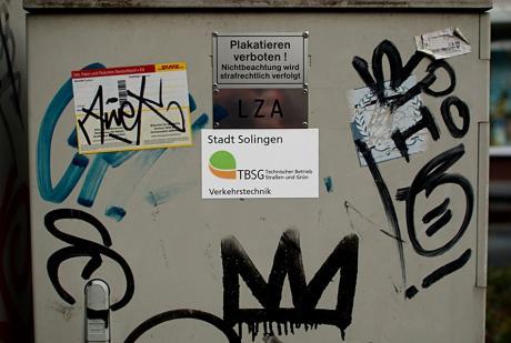 Stadt Solingen TBSG: Verkehrstechnik