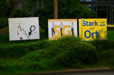 Die Trio des letzten Jahrtausends: SPD, CDU, FDP
