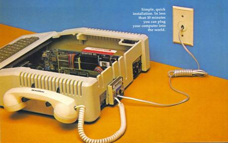 """Put your Apple out to prowl"": Werbung aus dem Jahre 1982"