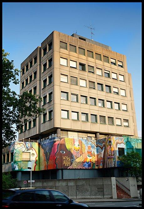 ehemaliges Polizeigebäude: an der Goerdelerstraße