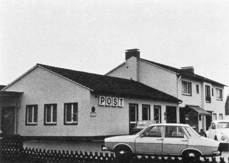 """Post Aufderhöhe 1958: Foto aus """"Auf der Höhe, Solingen, Ein Streifzug durch die Zeit, Hans Grah, 1977"""""""