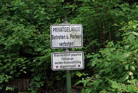Privatgelände
