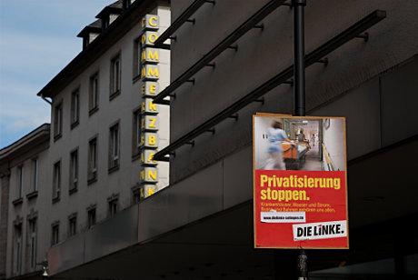 Privatisierung stoppen.: Krankenhäuser, Wasser und Strom, Busse und Bahnen gehören uns allen.