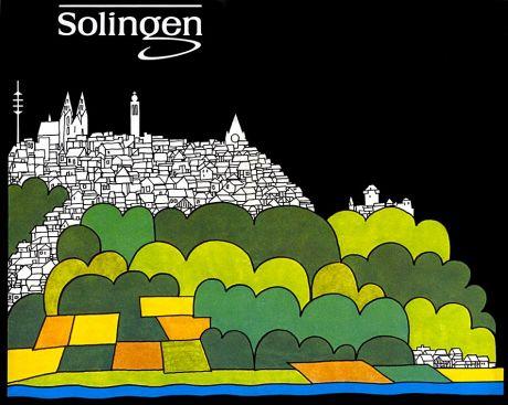 Solingen - Ausflugsziel für Freizeit-Fans: Teil des von der Stadt Solingen verteilten Faltblattes