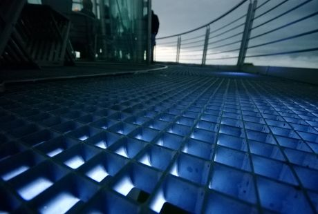 Kultur Sommer Nacht: 2011 am Gräfrather Wasserturm - falsch - Lichtturm
