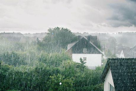 Regen im Solinger Süden