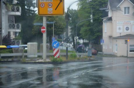 Regen auf der Krahenhöhe