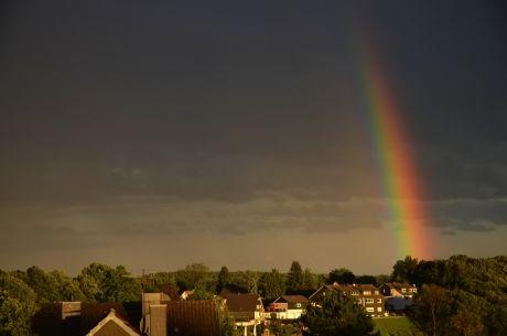 Regenbogen über Pfaffenberg