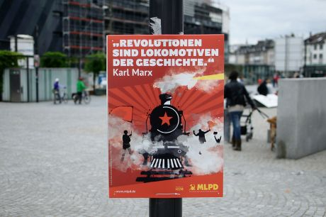 ... Revolutionen sind Lokomotiven der Geschichte