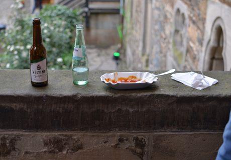 Das moderne Rittermahl: zu Schloss Burg