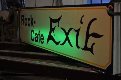 Rock-Cafe Exit: Gab es das jemals?