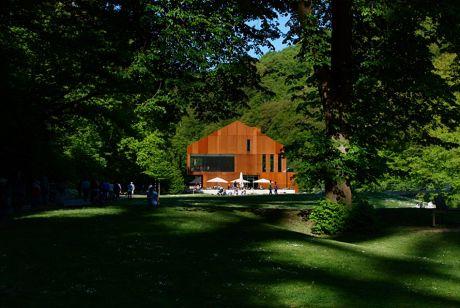 die bergische Rostlaube: auch Haus Müngsten genannt