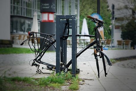 Fahrrad: ohne Rad - tiefer gelegt
