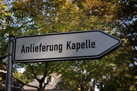 Anlieferung Kapelle