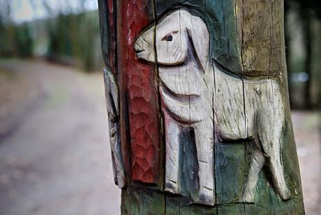 Schäfer und sein Hund