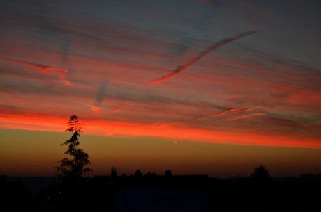 Sonnenaufgang: Wenn Wolken Schatten werfen