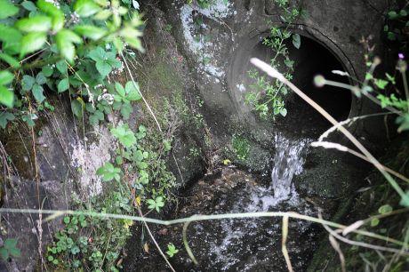 Schellberger- und Hästener Bach im Untergrund