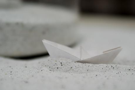 wenn ein Schiff vor Überfahrt: (Objekt: Tom Brenger, Solingen)