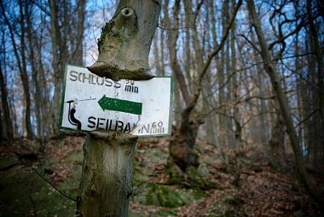 Schloss und Seilbahn: nur wenige Gehminuten entfernt