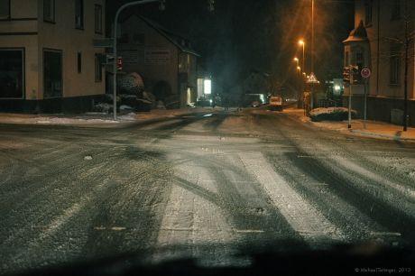 Kreuzung Ritterstraße, Bismarckstraße und Pfaffenberger Weg