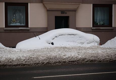 schneeschnittiges Design