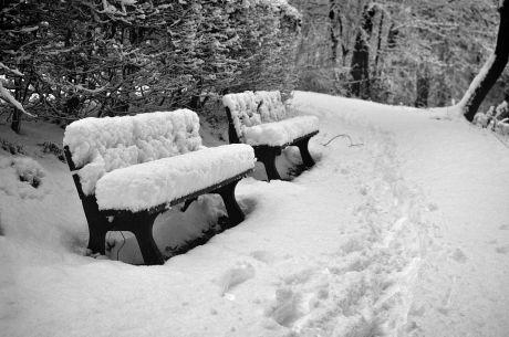25cm Schneepolster