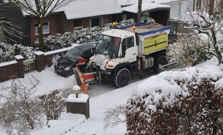 Solinger Winterdienst im Einsatz