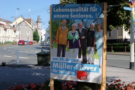 Lebensqualität für unsere Senioren.: Eigentum der SPD?