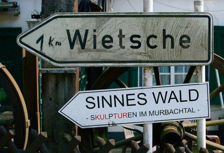 Wietsche :: SinnesWald: Skulpturen im Murbachtal