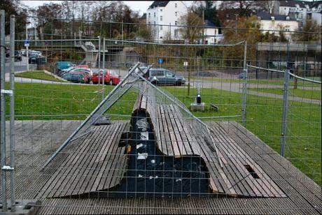 Sitzmöbelwrack: Ende November 2011