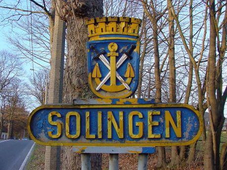 Solingen: im Jahre 2004 an der Burger Landstraße