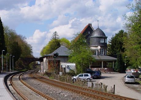 Bahnhalt Solingen-Schaberg: am 2.5.2006