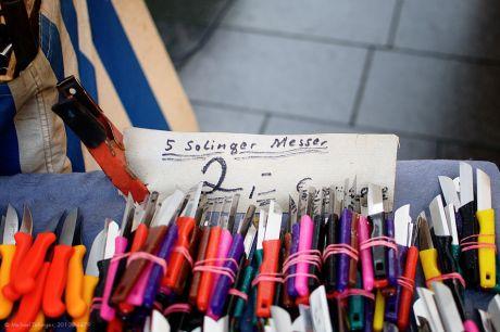 Solinger Messer: 5 Stück, 2 Euro