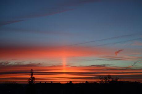 Sonnenaufgang: Manche Exemplare im Dezember haben etwas!